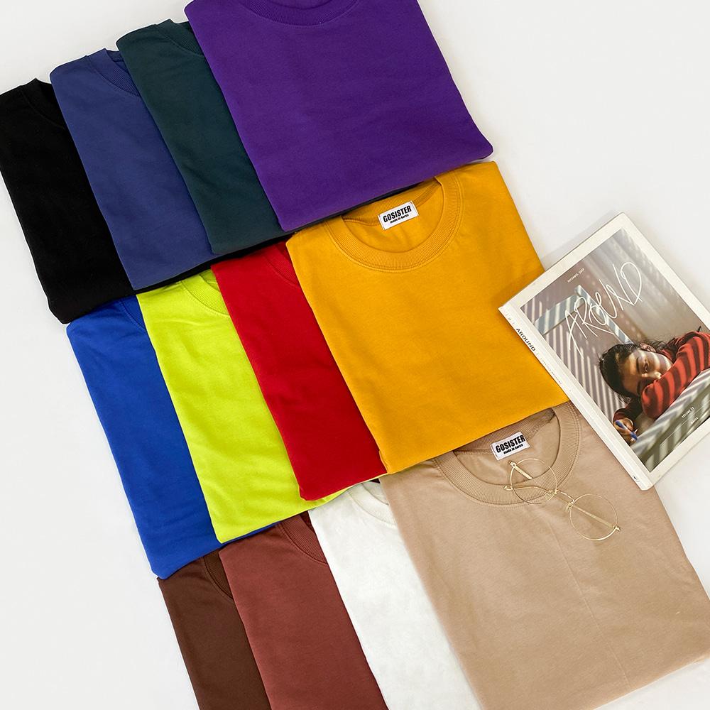 [무료배송][1+1할인]365DAYS 베이직긴팔티 <br> 티셔츠 데일리 레이어드