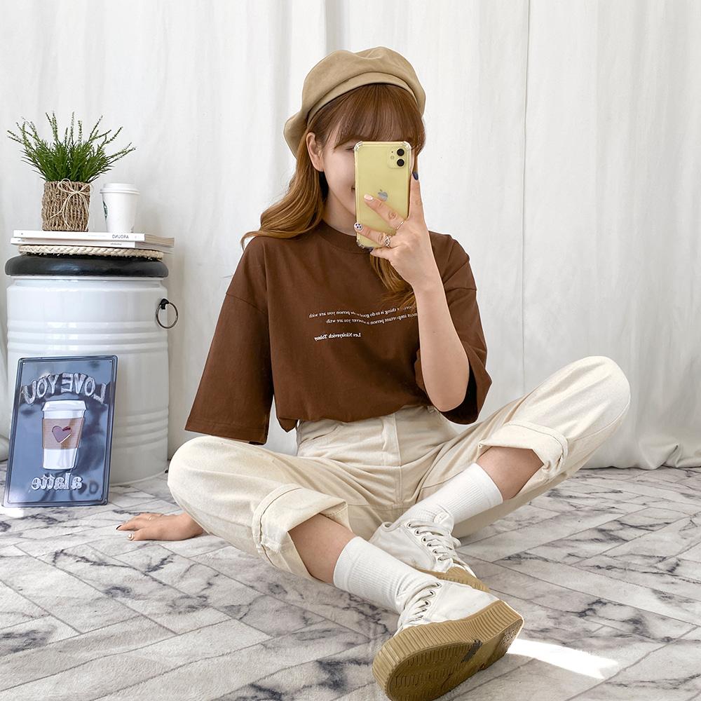 국내생산♥[무료배송][NO!마진]TOY 반팔티 <br> 티셔츠 프린팅 베이직 기본티 박시핏
