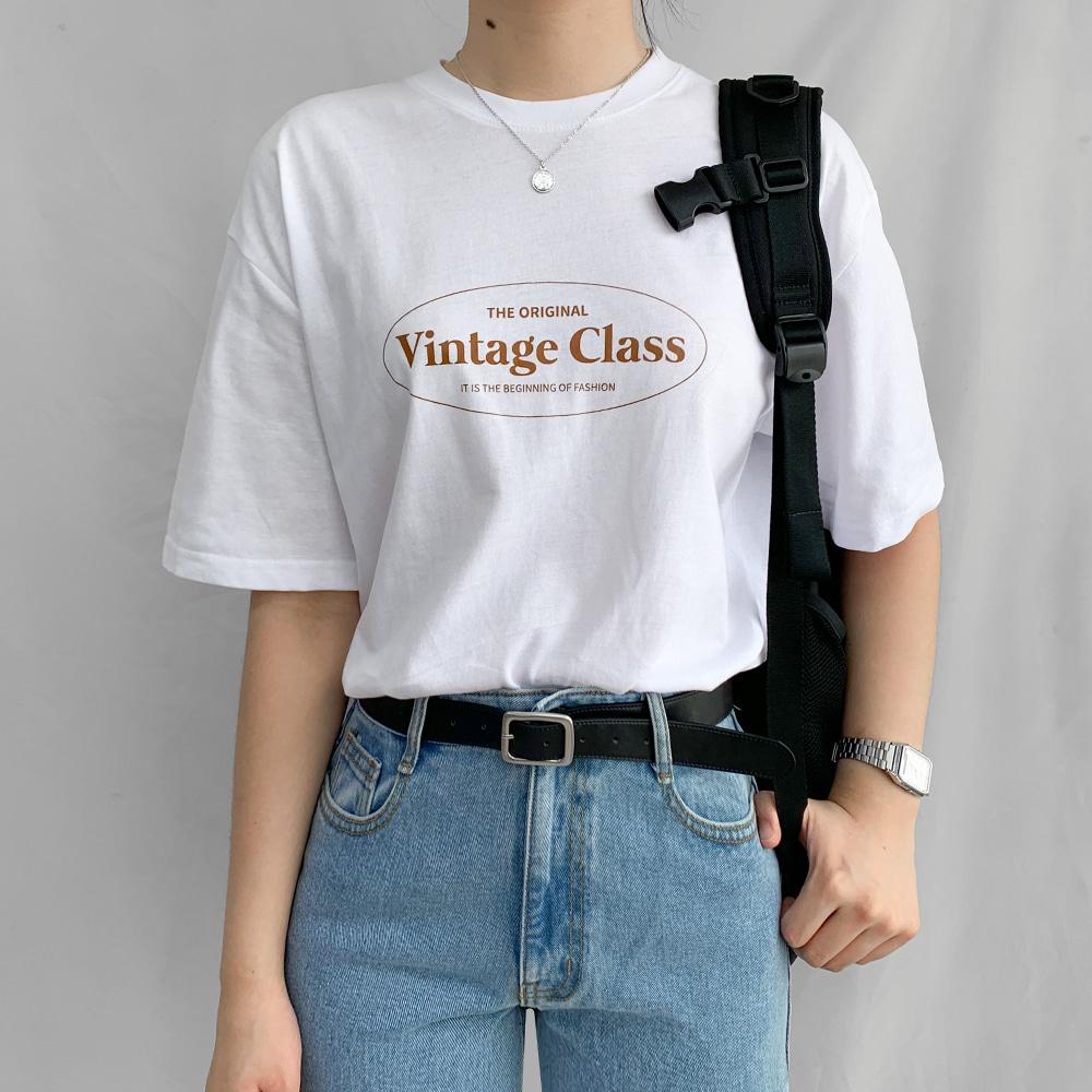 [무료배송][1+1할인]구매각 5종트임반팔티<br> 20수 고퀄리티 티셔츠 프린팅 레이어드 베이직